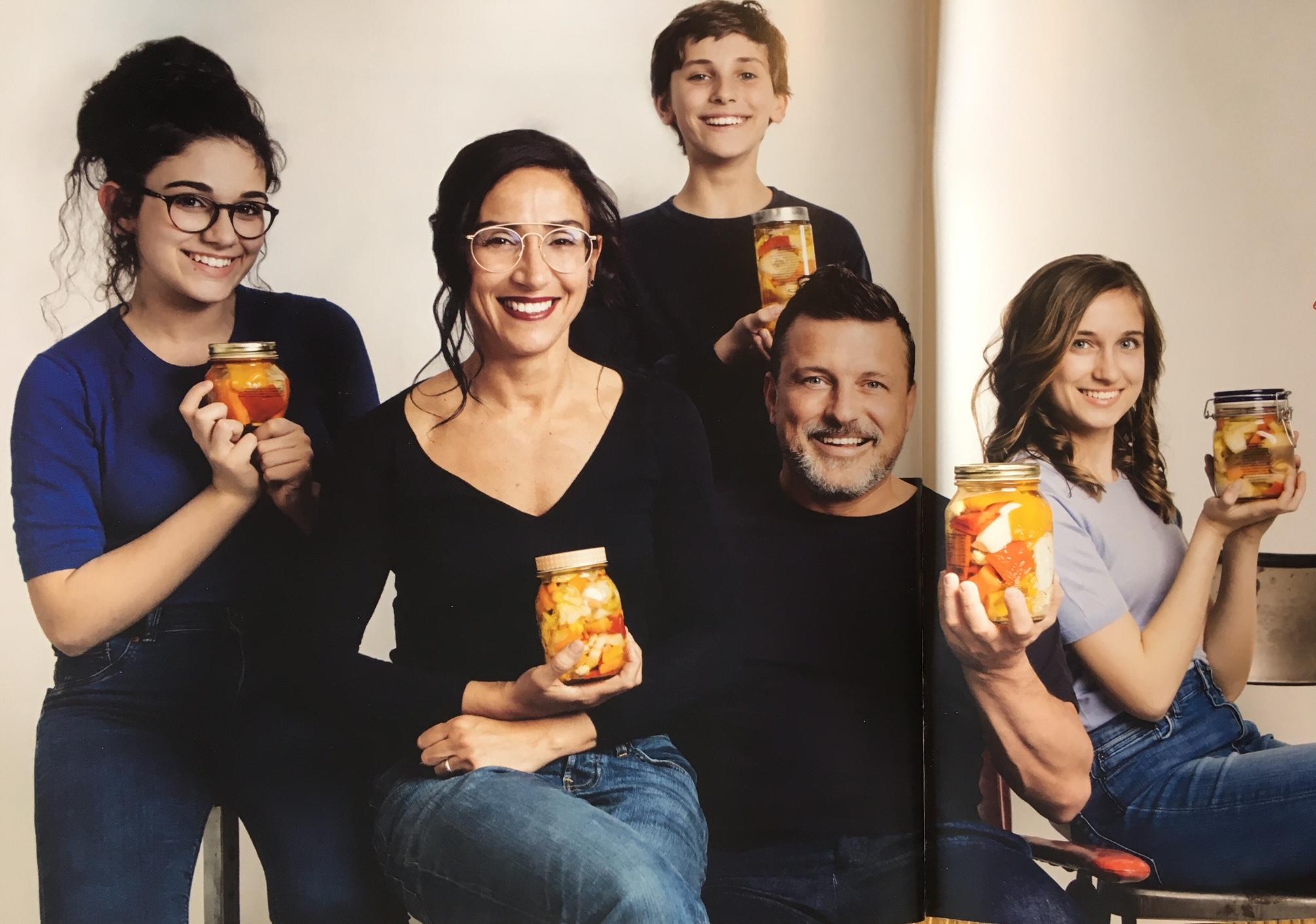 Morgan e famiglia