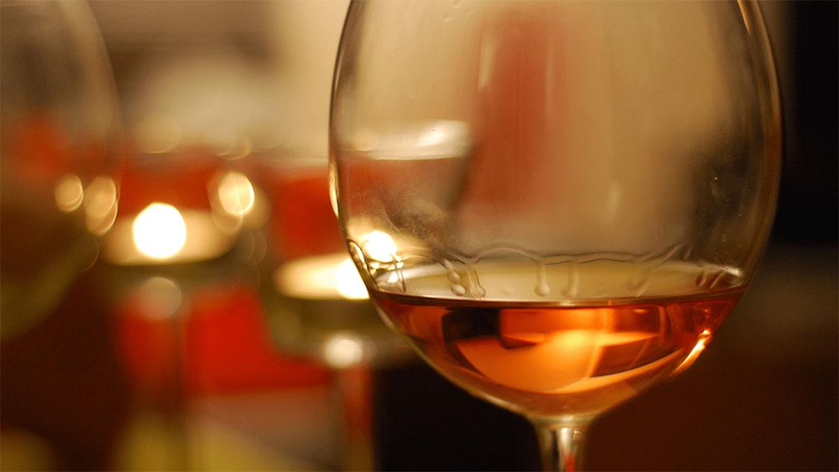 Orange Wine bicchiere