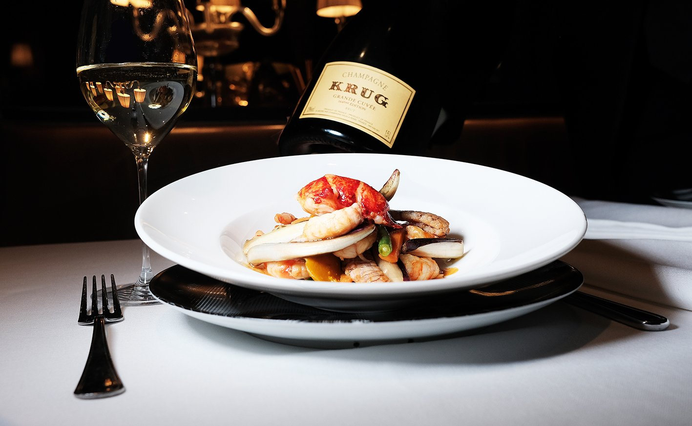 Krug and fish