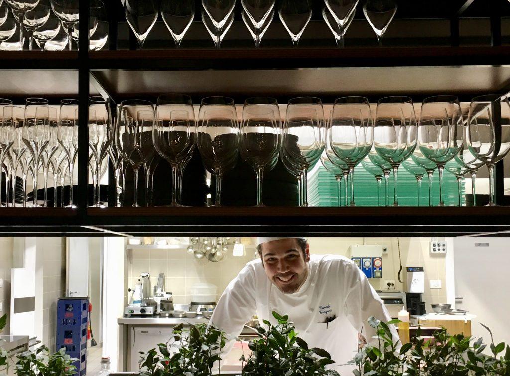 Lo chef Davide Tangari di Valbruna Limena (foto di Germana Cabrelle)