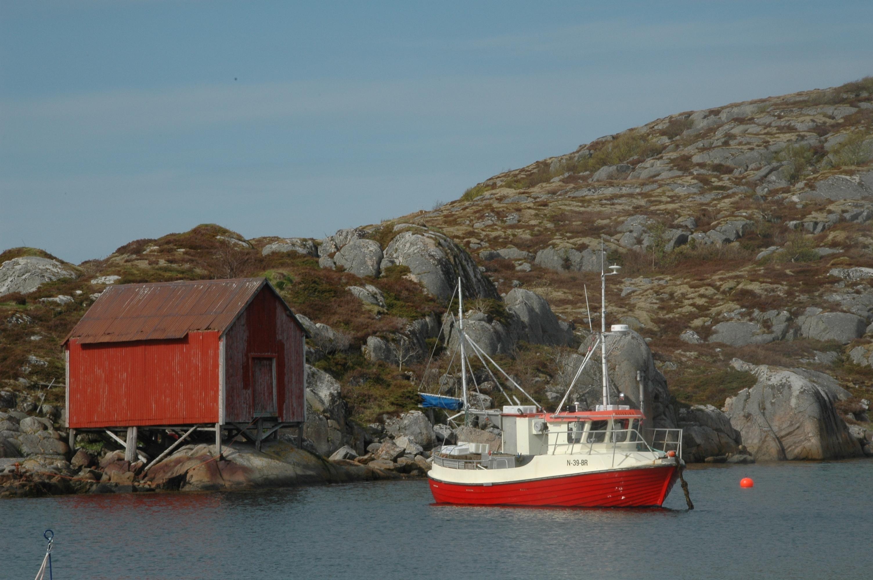 Case di pescatori norvegesi: foto di Germana Cabrelle