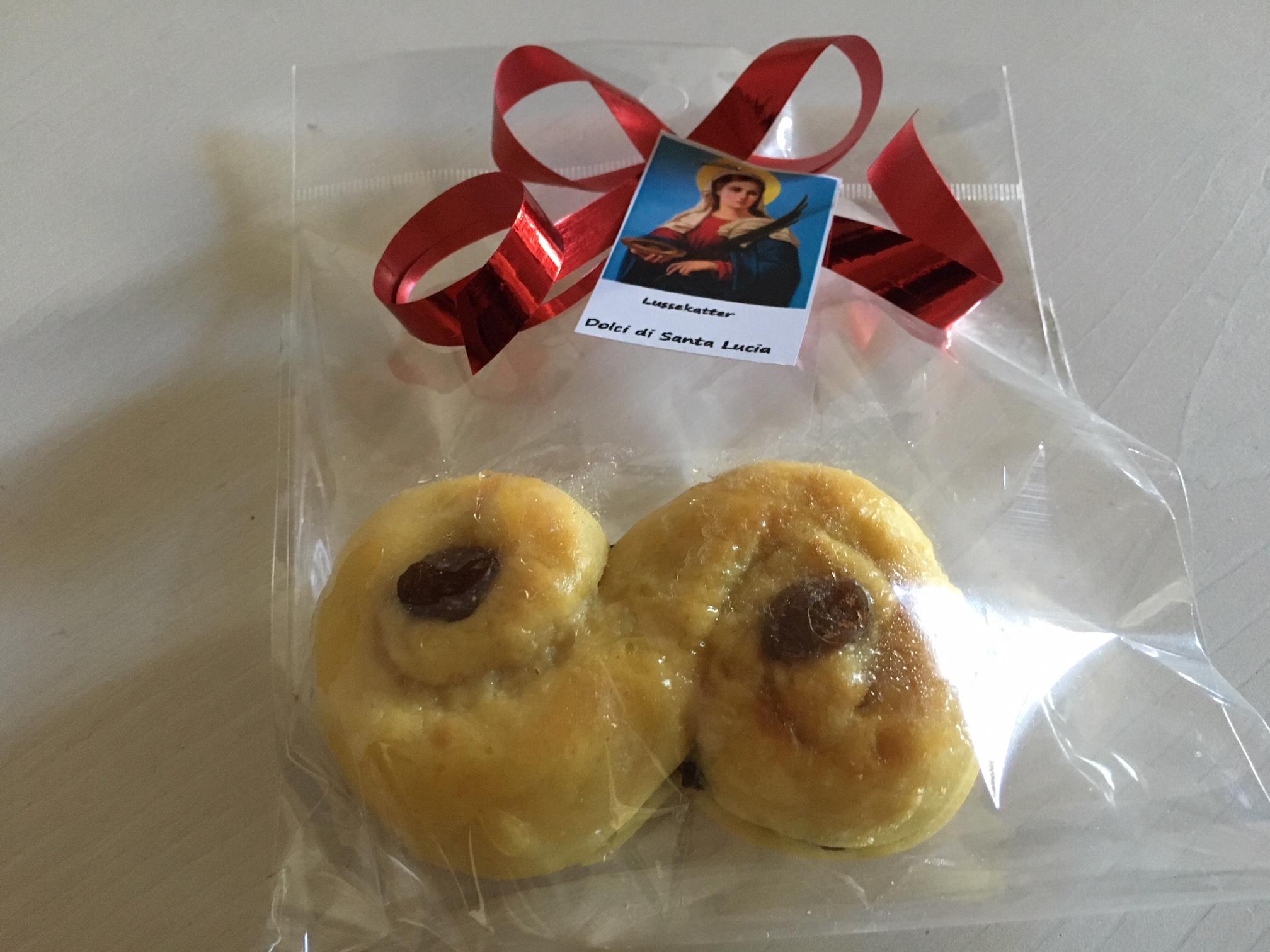 I dolci di Santa Lucia (foto di Germana Cabrelle)