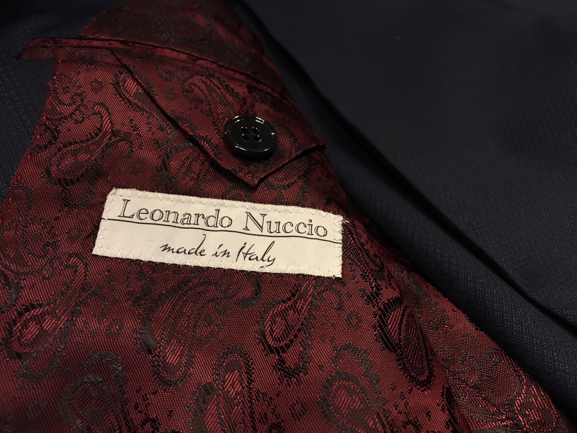 Leonardo Nuccio (foto di Germana Cabrelle)