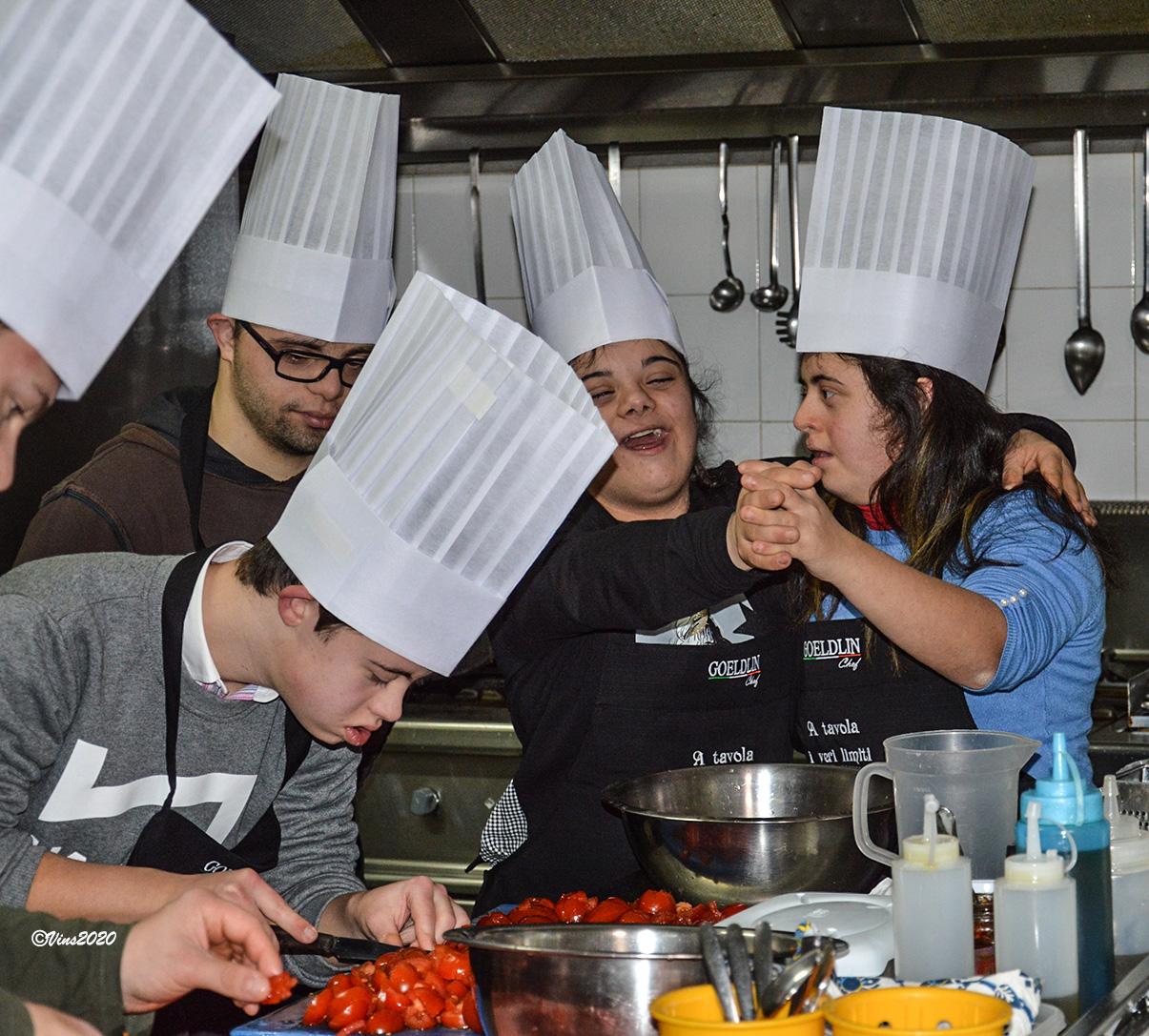 """Gli """"chef del cuore"""" in cucina"""