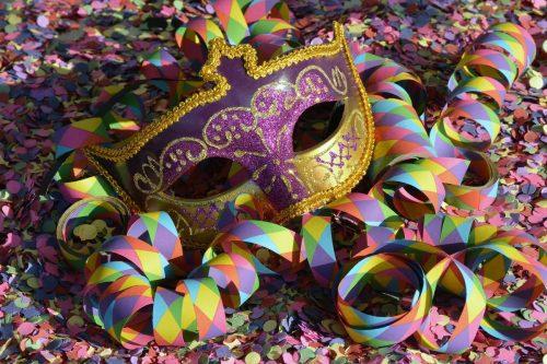 maschera carnevale 2020