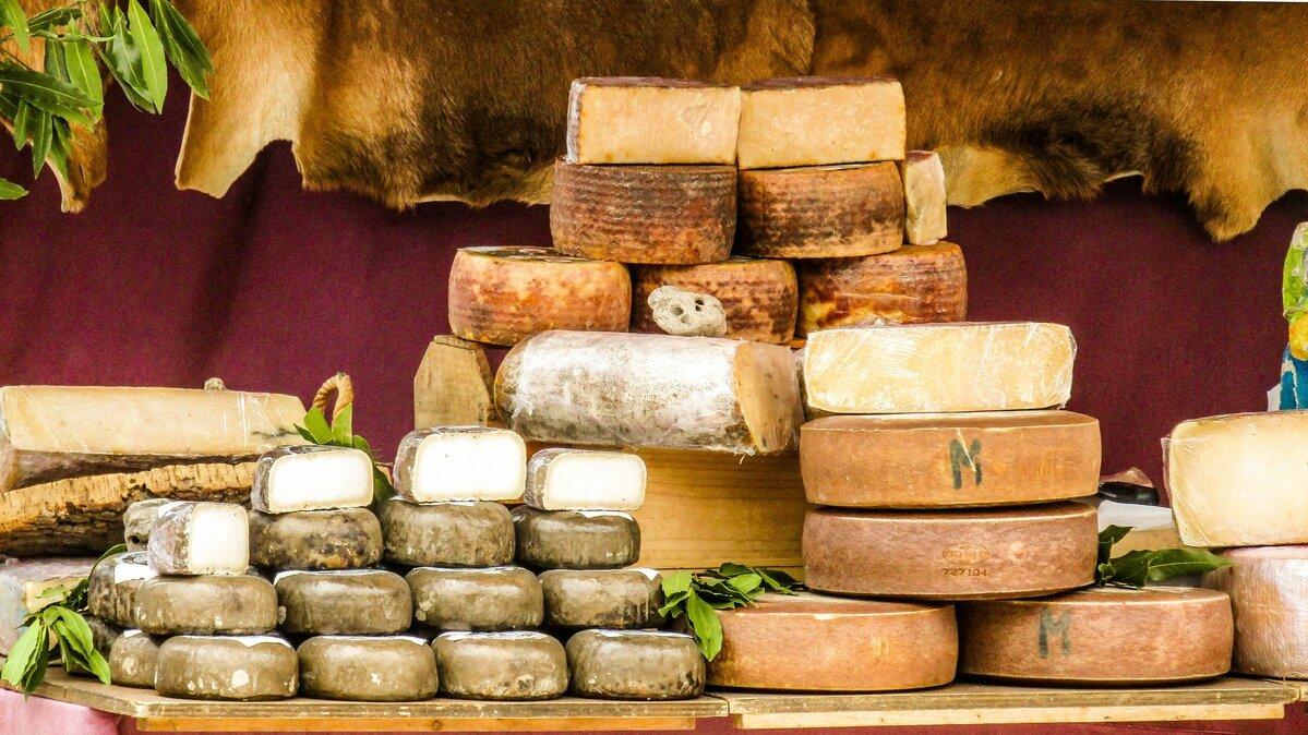 valle del treja formaggi cucina tipica
