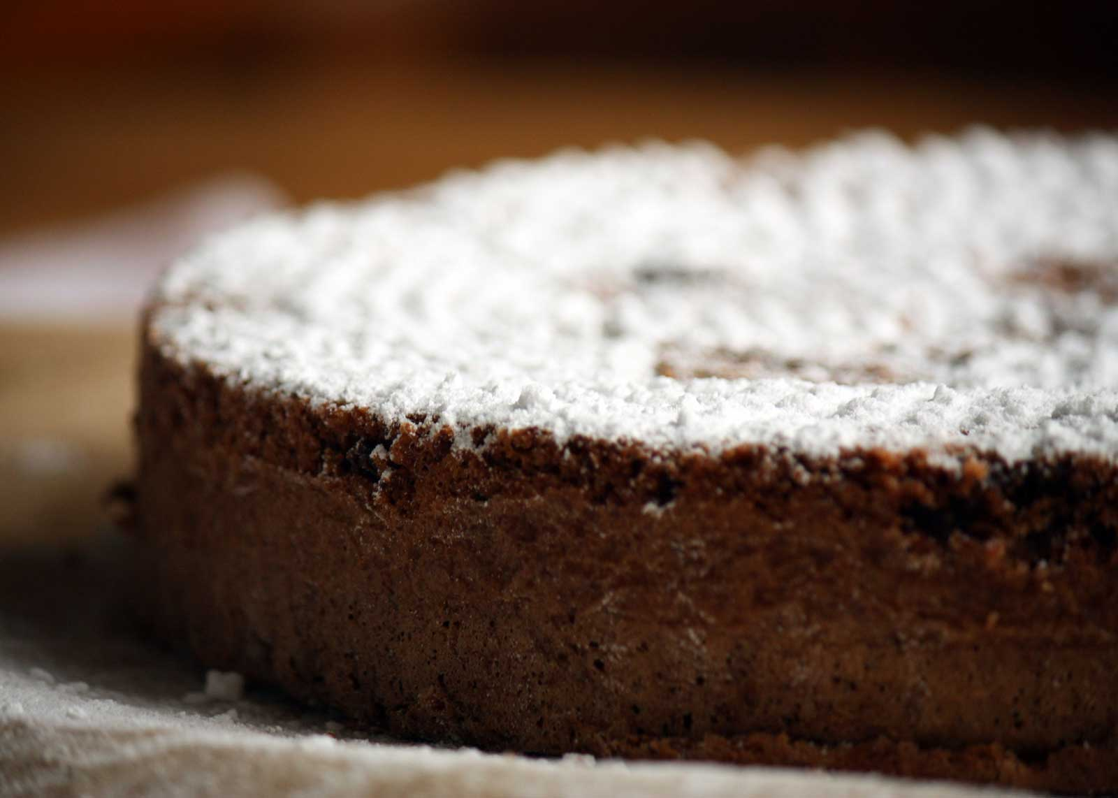 Torta Caprese della Pasticceria Martesana