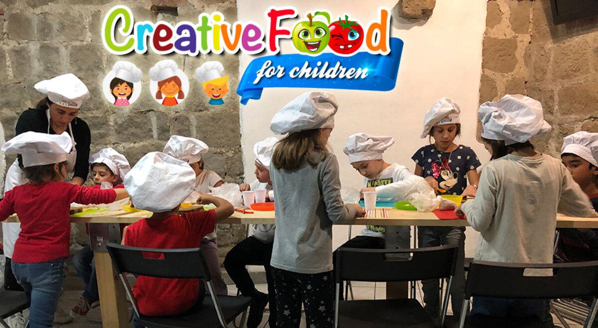 laboratorio di cucina per bambini