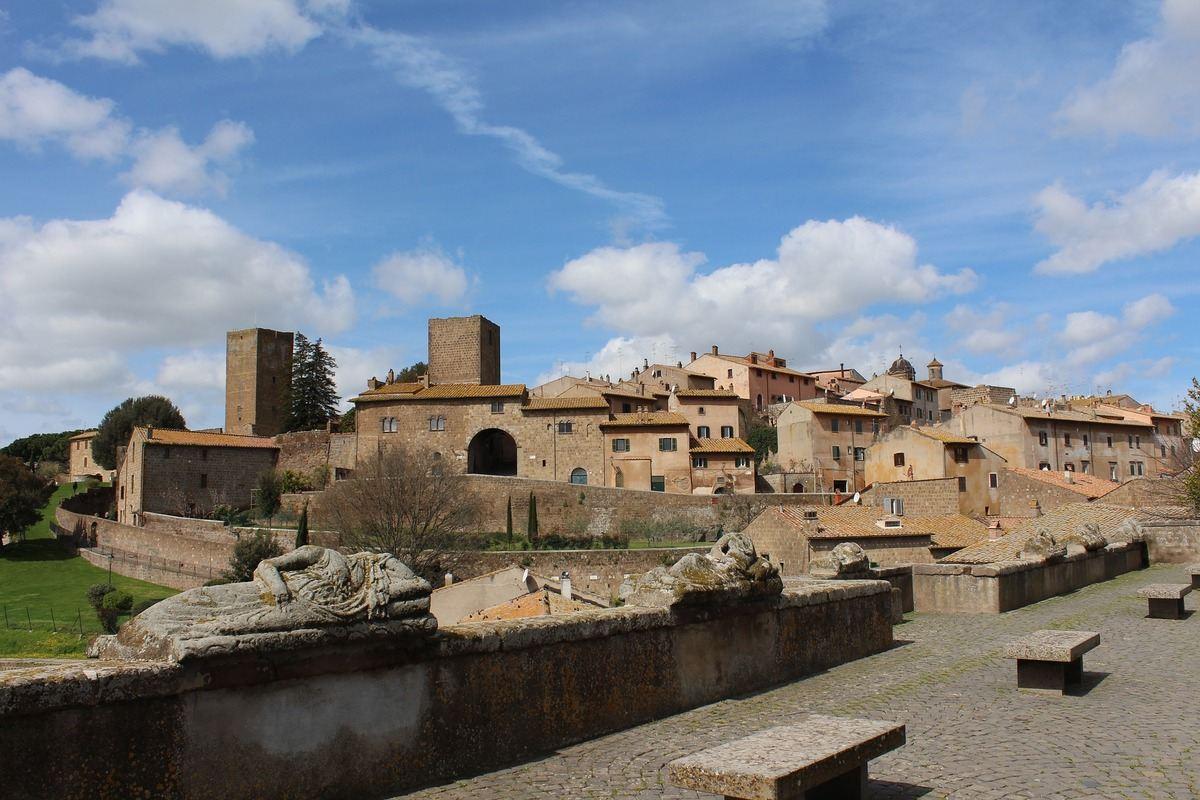 borgo maremma laziale tuscania