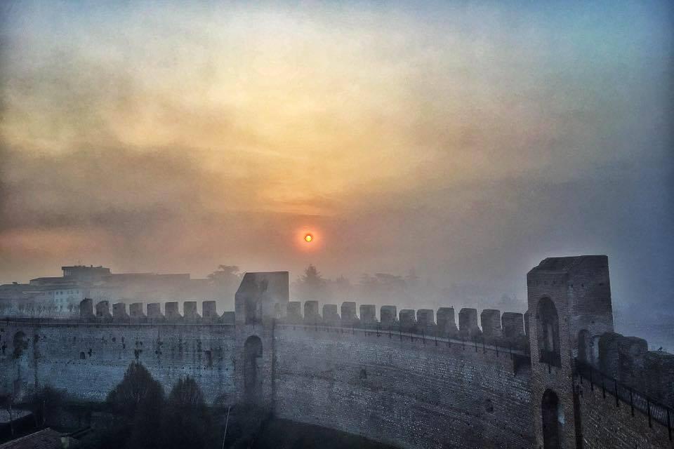 Cittadella all'alba (foto di Germana Cabrelle)