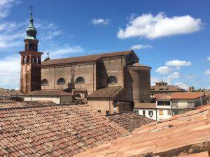 Cittadella dall'alto (foto di Germana Cabrelle)
