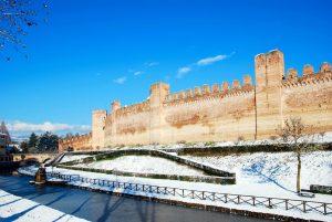 Cittadella con la neve (foto di Germana Cabrelle)